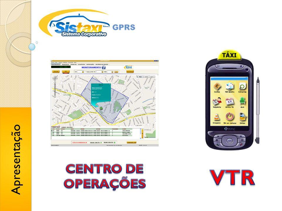 Apresentação CENTRO DE OPERAÇÕES VTR