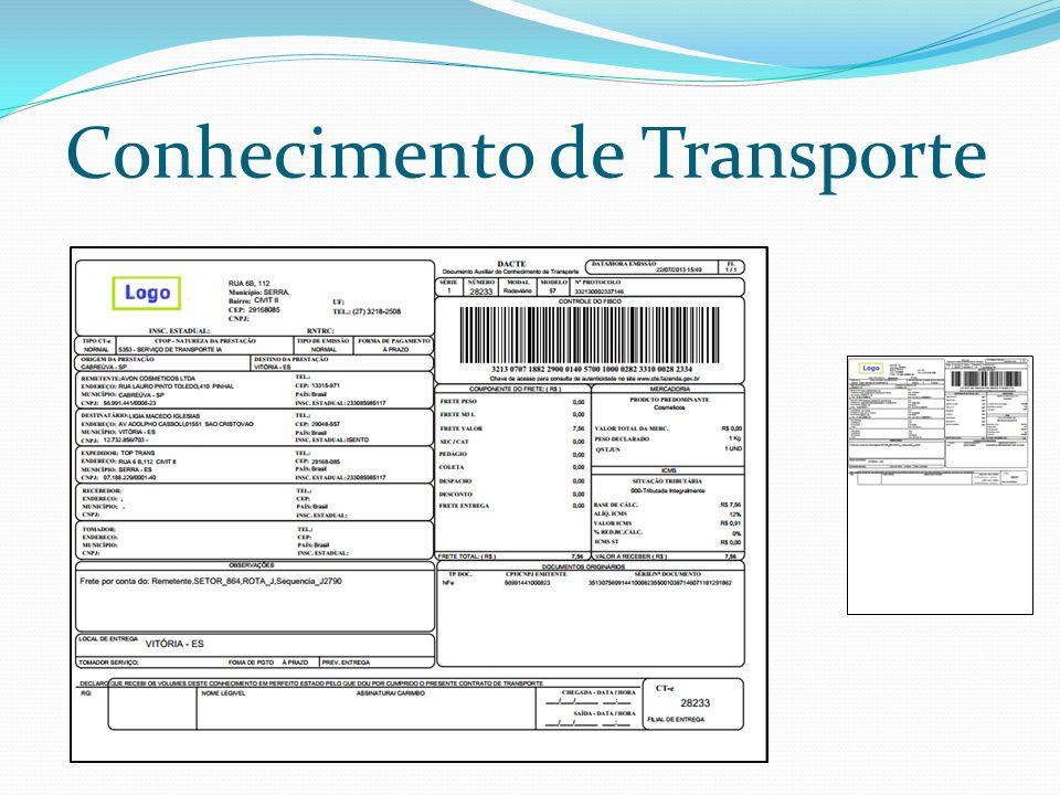 Conhecimento de Transporte