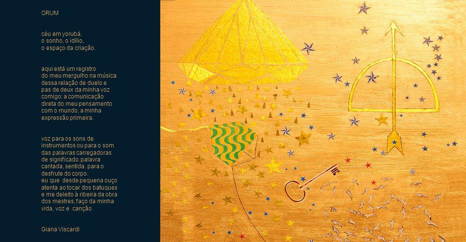 ORUM céu em yorubá. o sonho, o idílio, o espaço da criação. aqui está um registro. do meu mergulho na música.