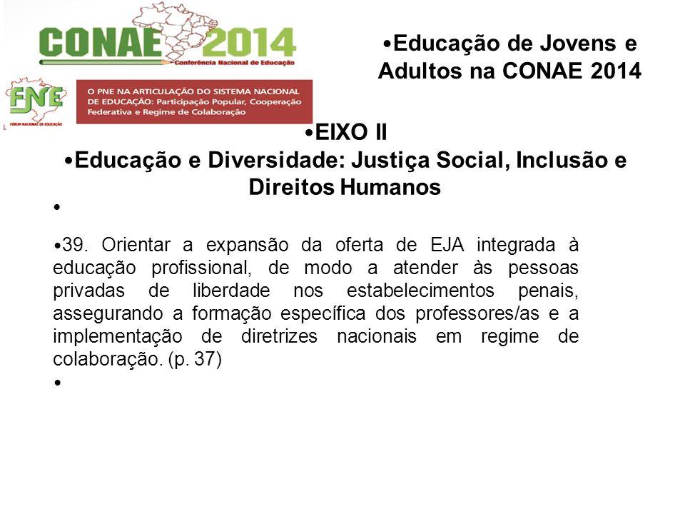 Educação e Diversidade: Justiça Social, Inclusão e Direitos Humanos