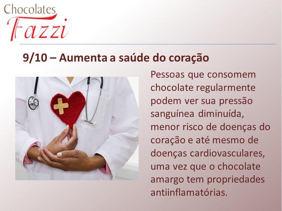 9/10 – Aumenta a saúde do coração