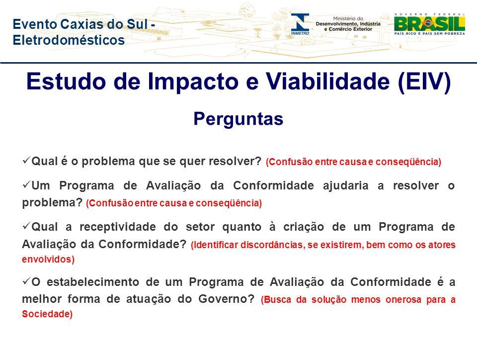 Estudo de Impacto e Viabilidade (EIV)