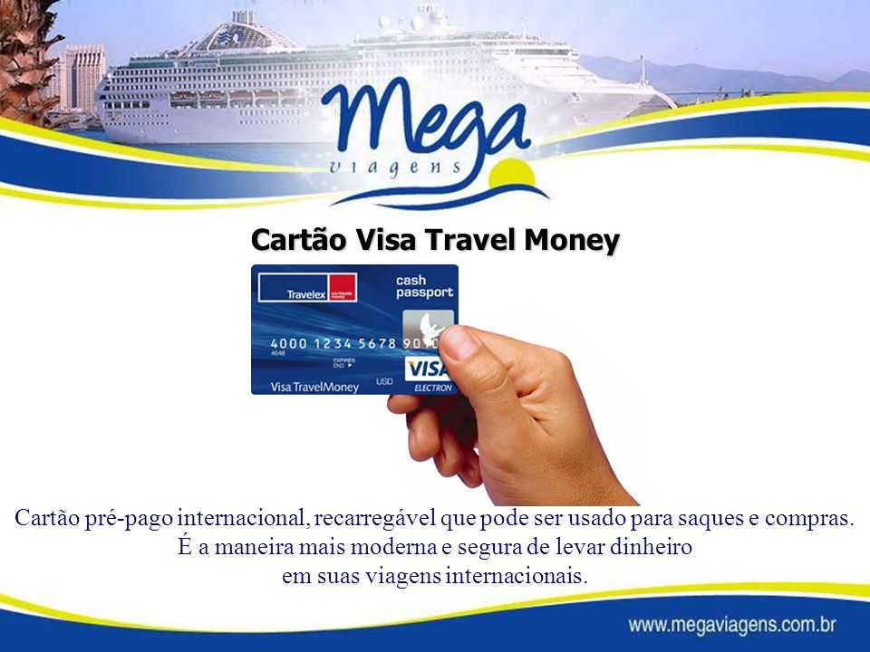 Cartão Visa Travel Money