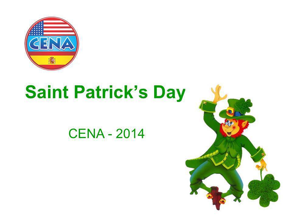 Saint Patrick's Day CENA - 2014