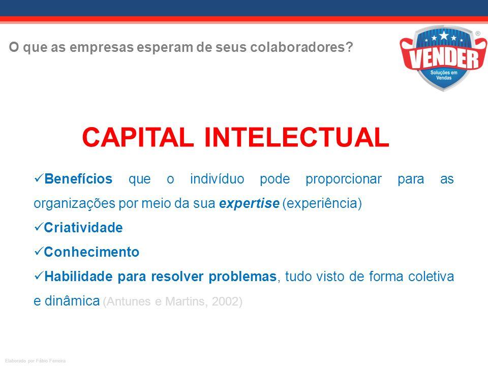 CAPITAL INTELECTUAL O que as empresas esperam de seus colaboradores