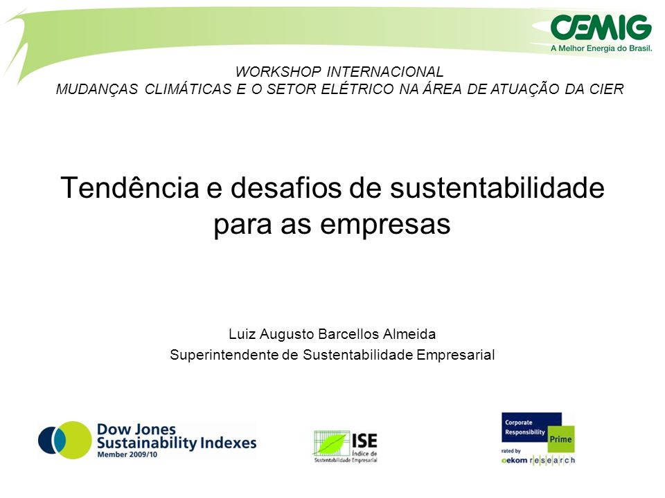 Tendência e desafios de sustentabilidade para as empresas