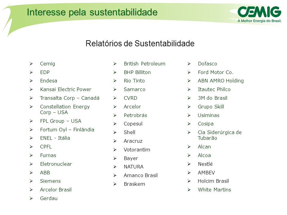 Tend ncia e desafios de sustentabilidade para as empresas for Bayer ford motor company