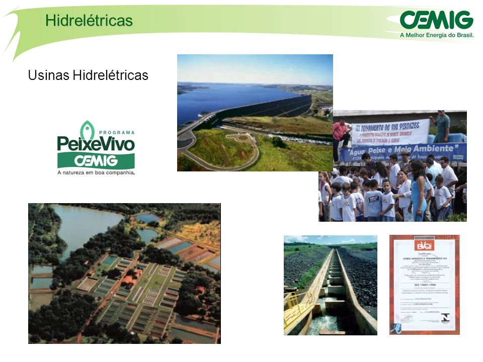 Hidrelétricas Usinas Hidrelétricas PROJETO LOBO-GUARÁ