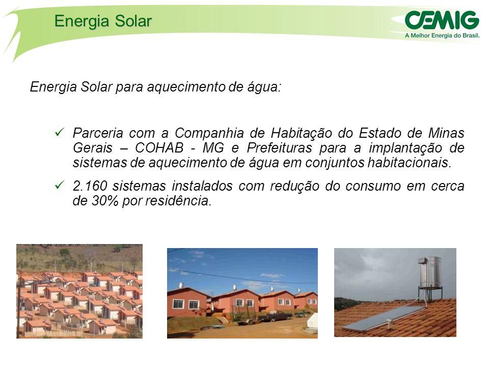 Energia Solar Energia Solar para aquecimento de água: