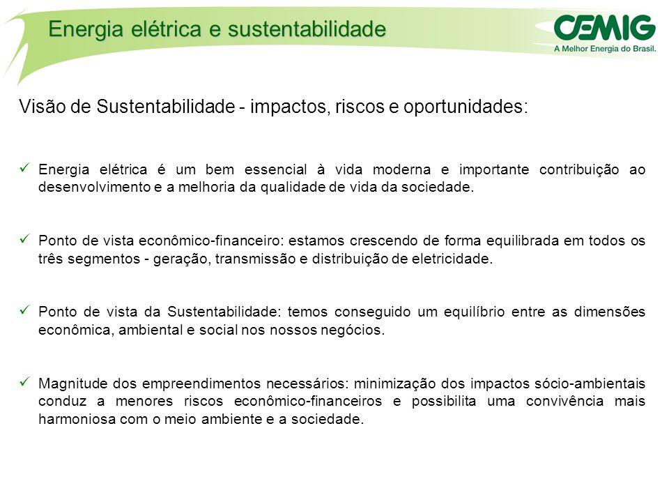 Energia elétrica e sustentabilidade