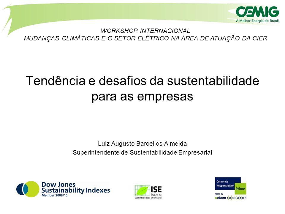 Tendência e desafios da sustentabilidade para as empresas
