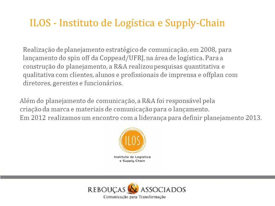 ILOS - Instituto de Logística e Supply-Chain