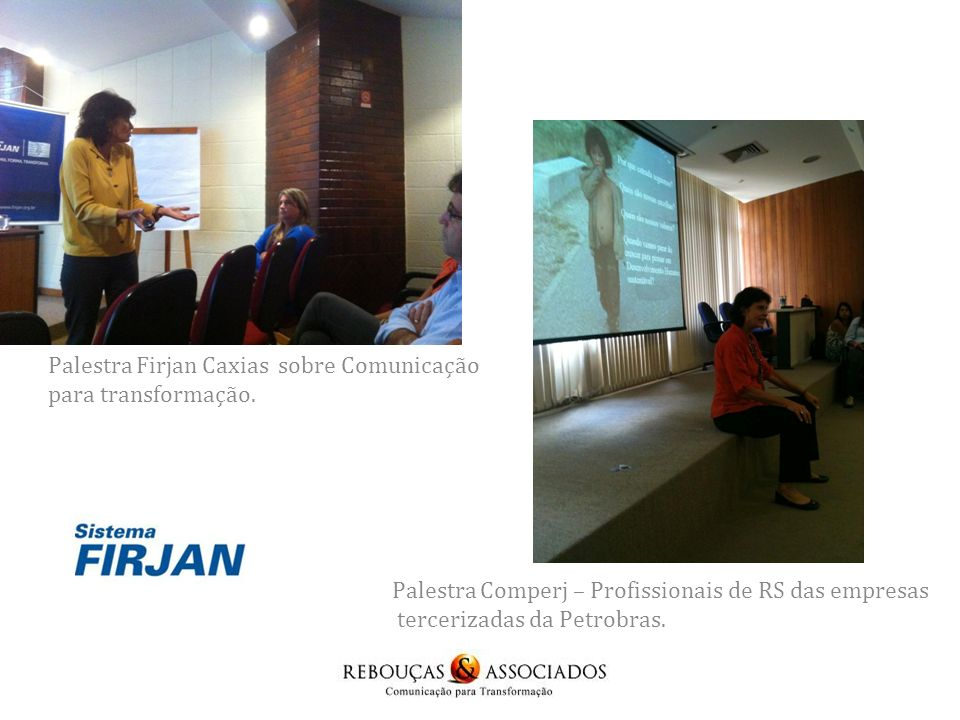 Palestra Firjan Caxias sobre Comunicação