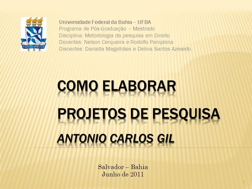 Como Elaborar Projetos de Pesquisa Antonio Carlos Gil