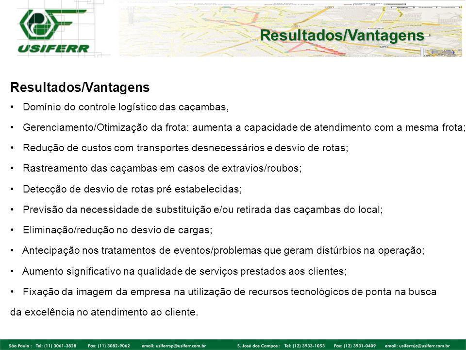 Resultados/Vantagens
