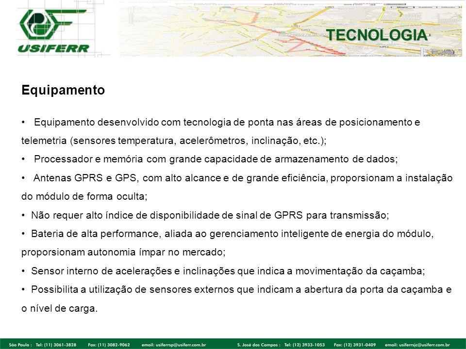 TECNOLOGIA Equipamento