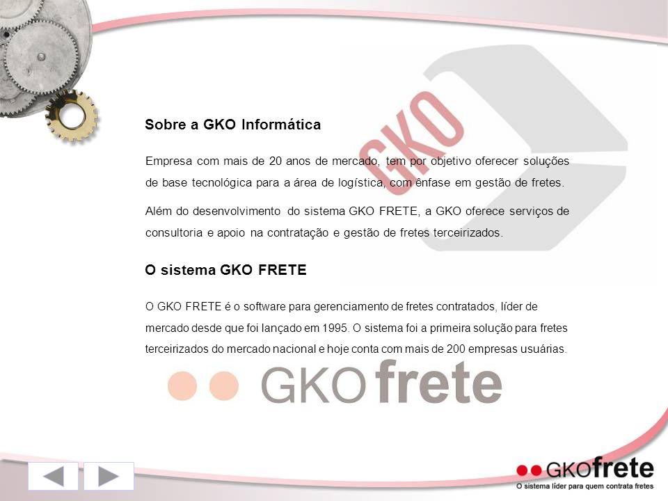 Sobre a GKO Informática