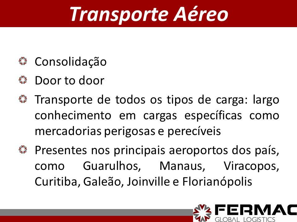 Transporte Aéreo Consolidação Door to door