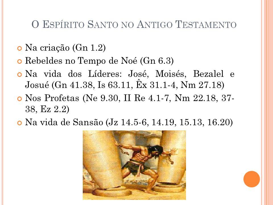 O Espírito Santo no Antigo Testamento