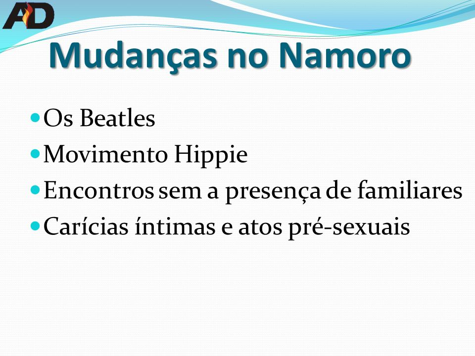 Mudanças no Namoro Os Beatles Movimento Hippie