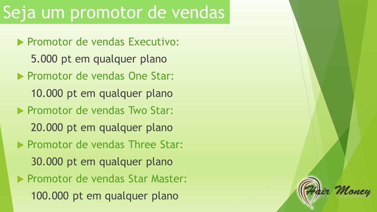 Seja um promotor de vendas
