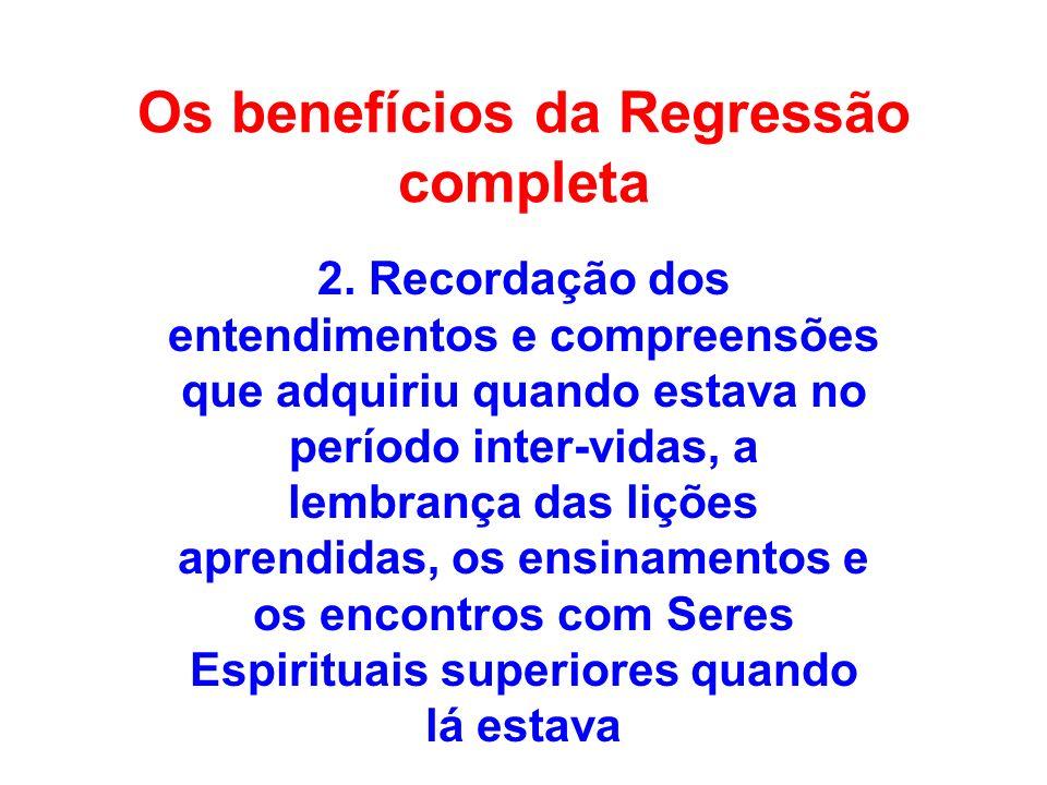 Os benefícios da Regressão completa