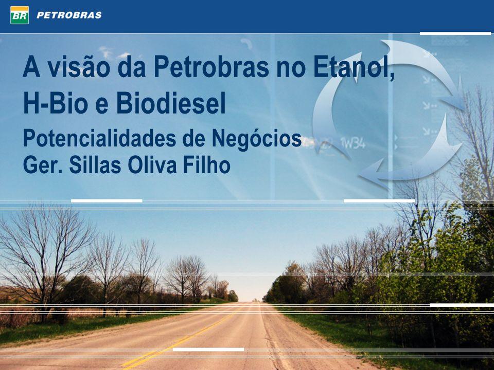 A visão da Petrobras no Etanol, H-Bio e Biodiesel