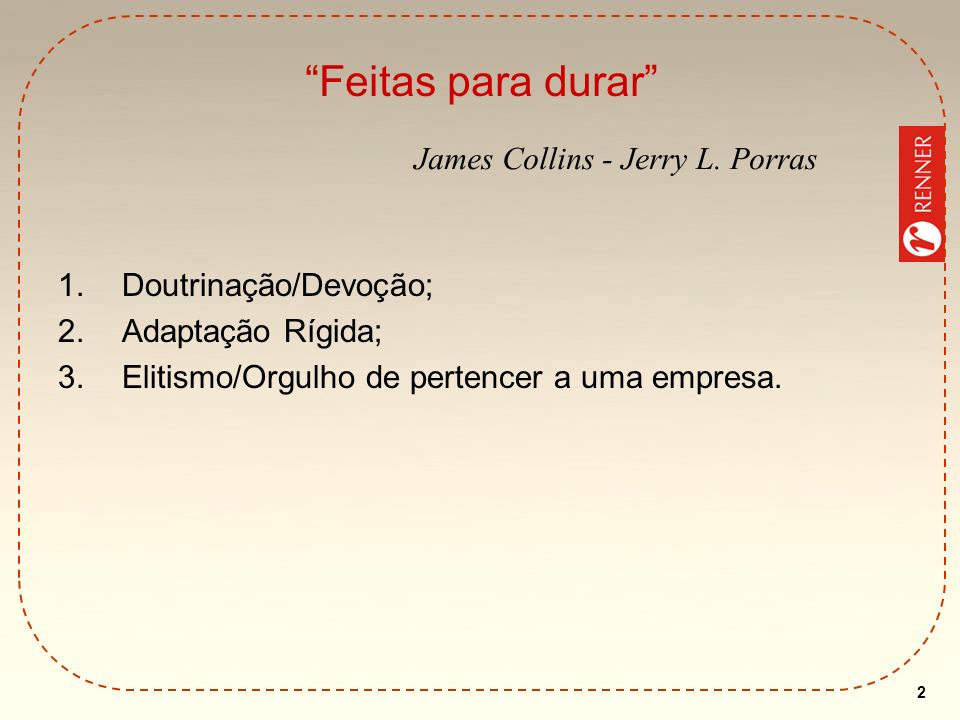 Feitas para durar James Collins - Jerry L. Porras