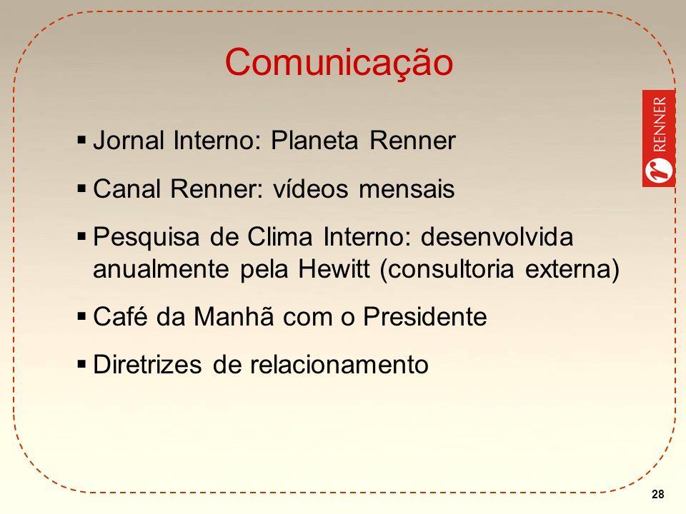 Comunicação Jornal Interno: Planeta Renner