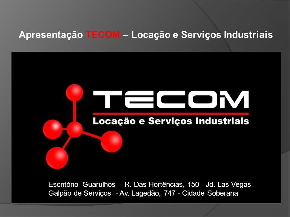 Apresentação TECOM – Locação e Serviços Industriais