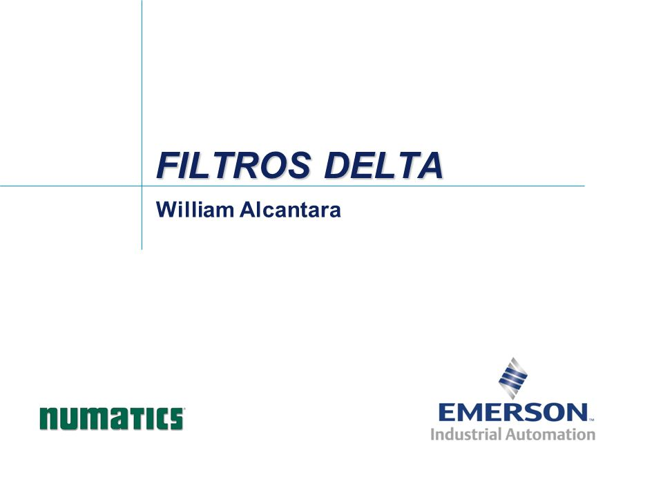 FILTROS DELTA William Alcantara