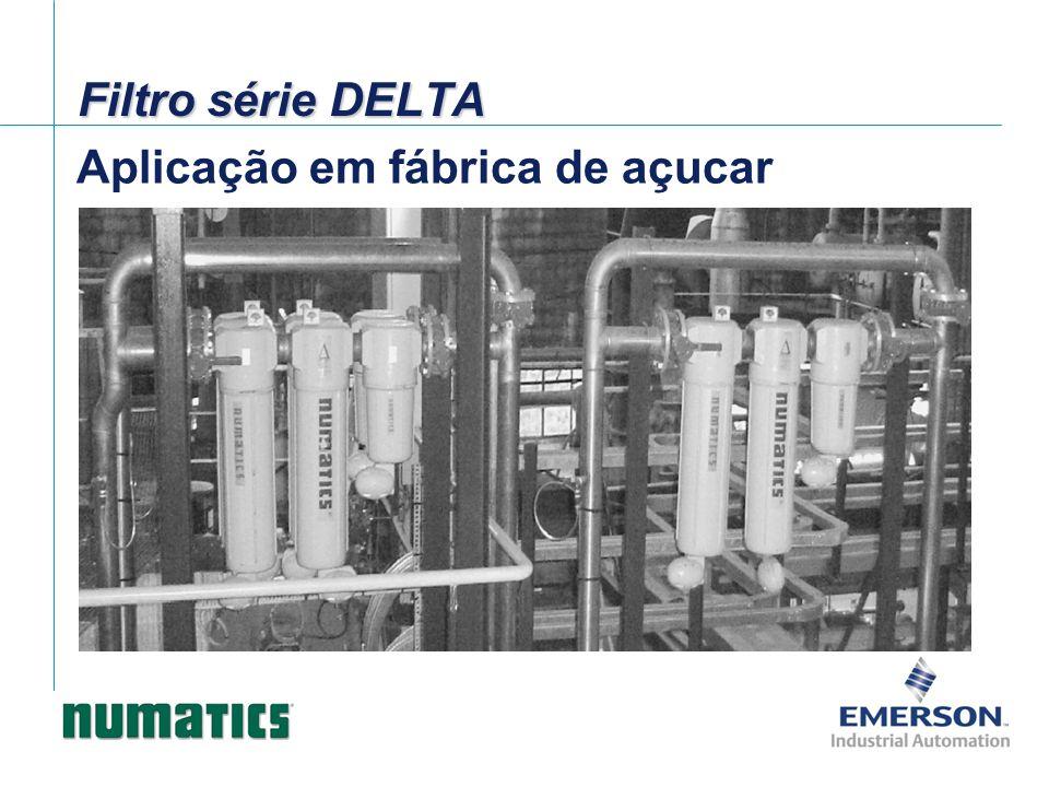 Filtro série DELTA Aplicação em fábrica de açucar