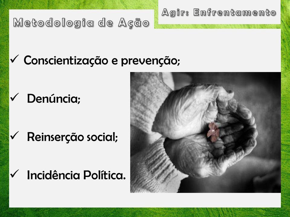 Conscientização e prevenção;