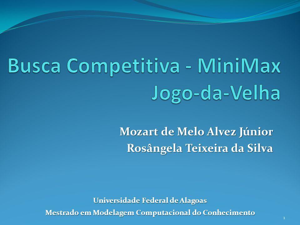 Busca Competitiva - MiniMax Jogo-da-Velha