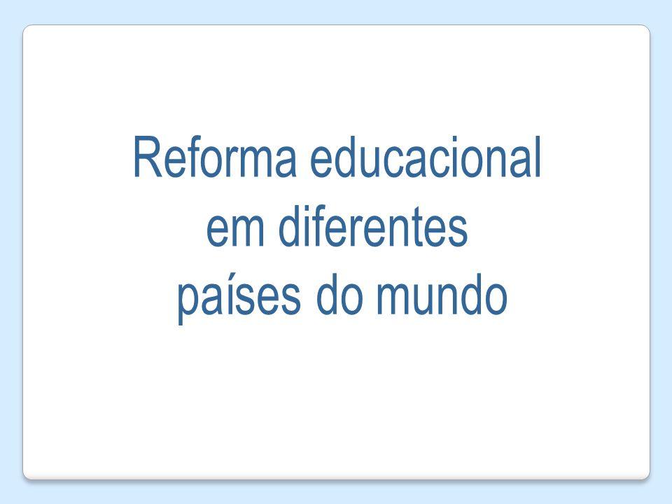 Reforma educacional em diferentes países do mundo