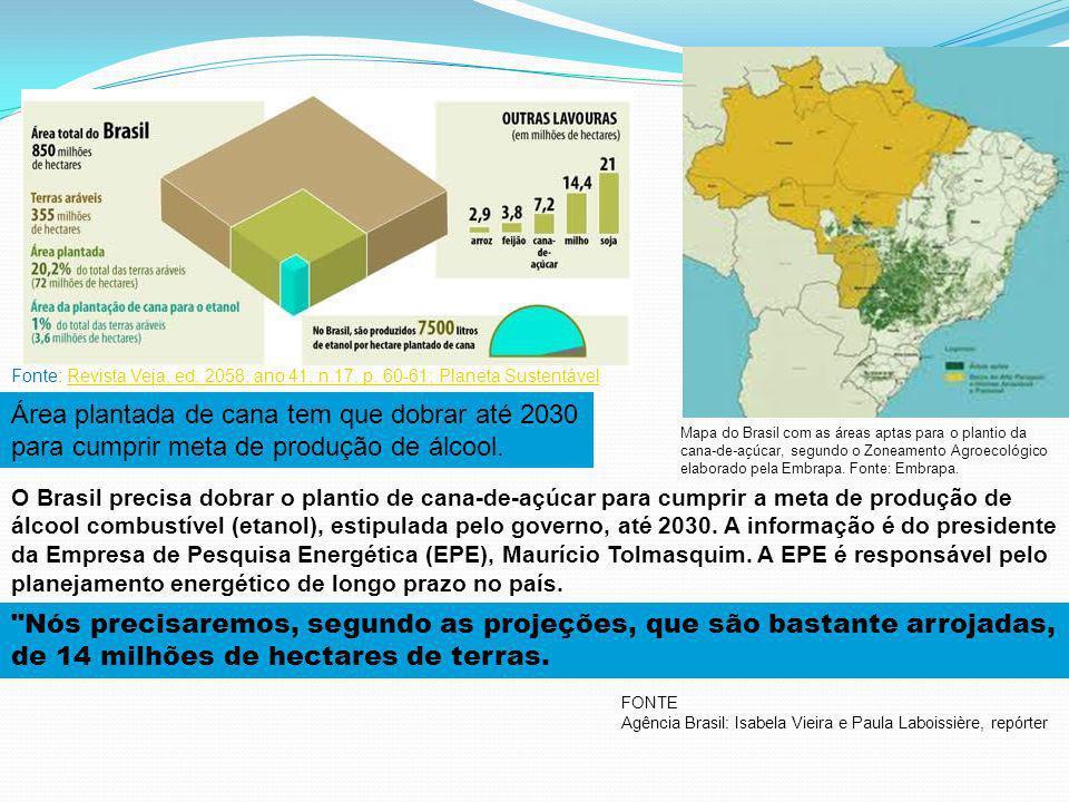 Fonte: Revista Veja, ed. 2058, ano 41, n. 17, p