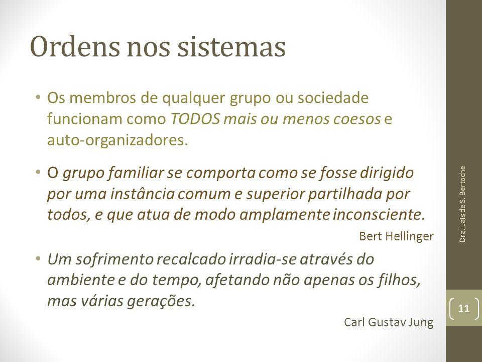 Ordens nos sistemas Os membros de qualquer grupo ou sociedade funcionam como TODOS mais ou menos coesos e auto-organizadores.