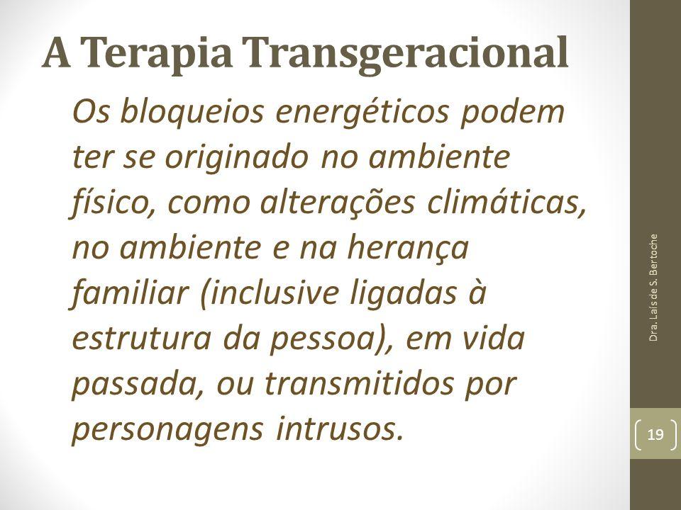 A Terapia Transgeracional