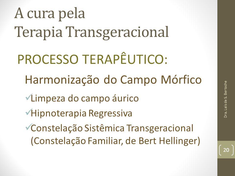 A cura pela Terapia Transgeracional