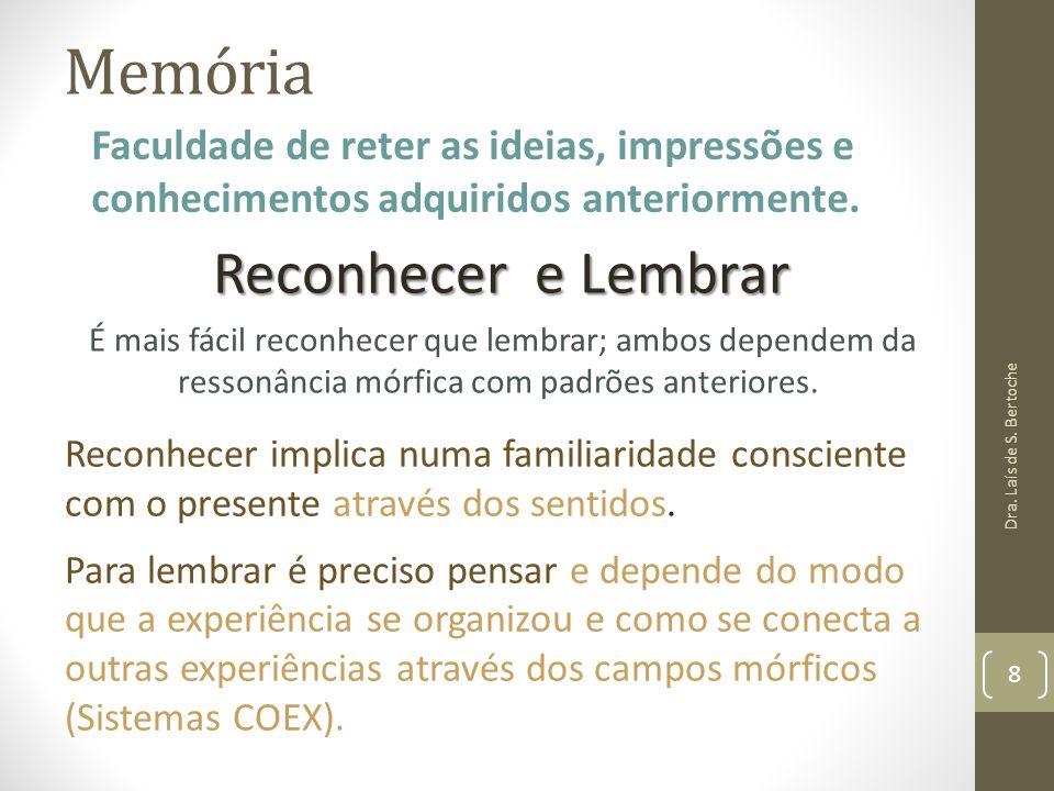Memória Reconhecer e Lembrar