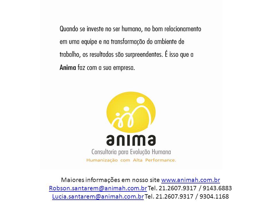 Maiores informações em nosso site www.animah.com.br