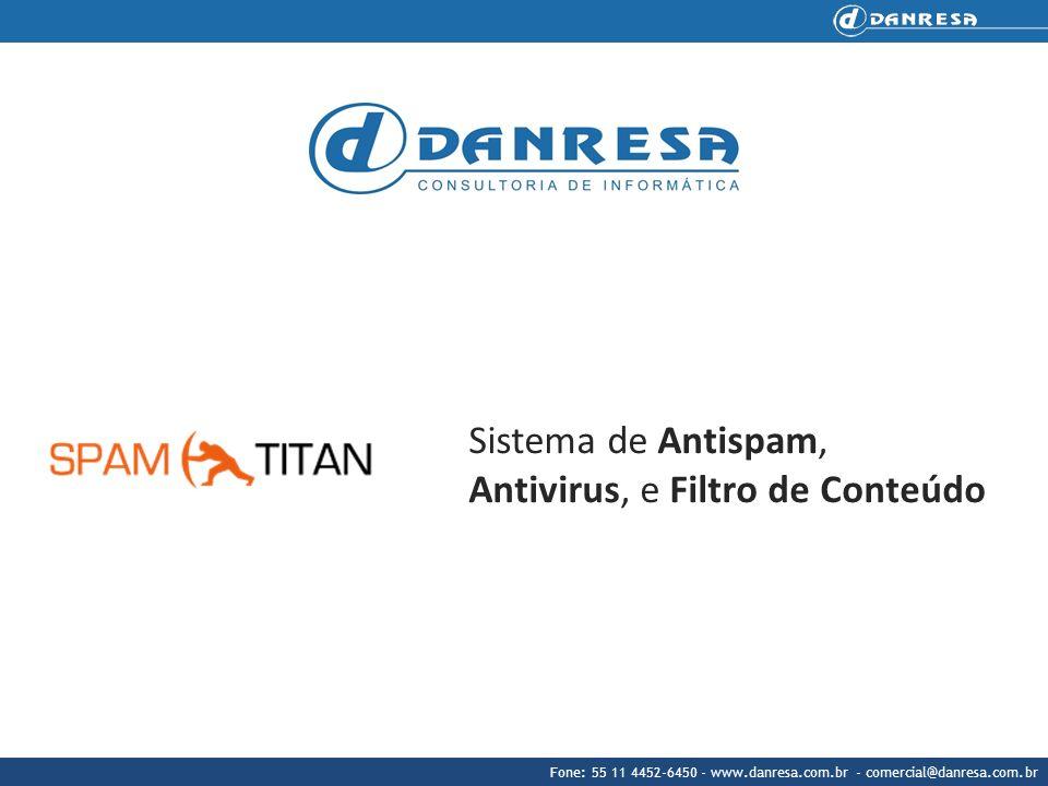 Sistema de Antispam, Antivirus, e Filtro de Conteúdo