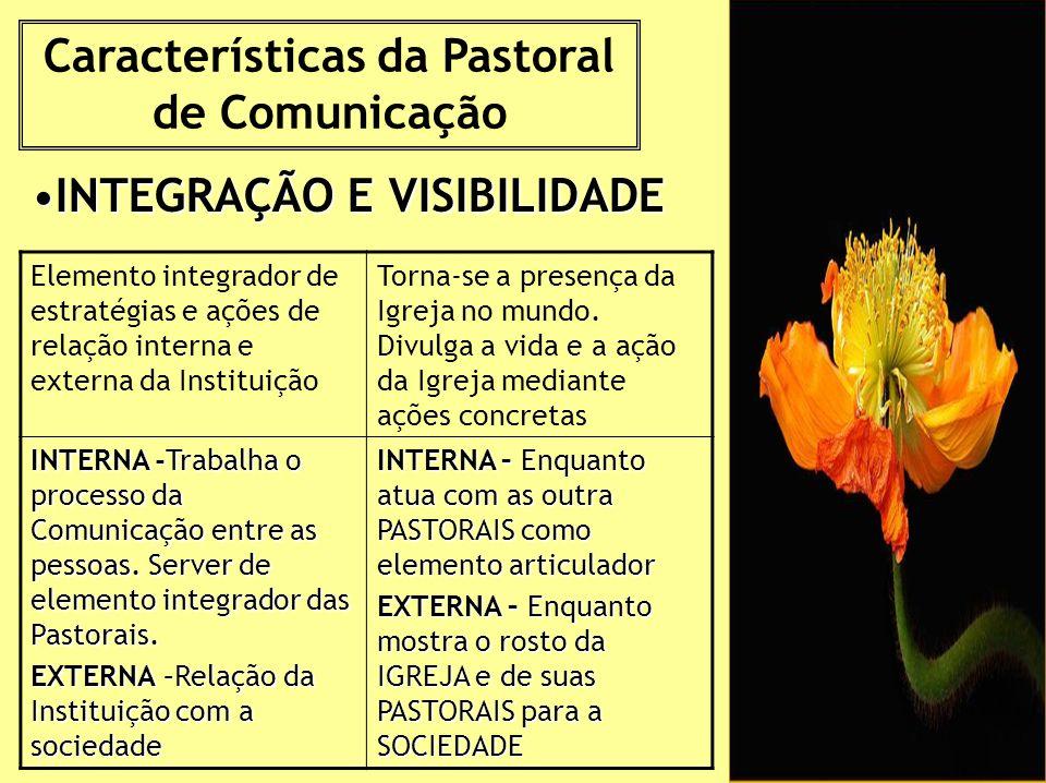 Características da Pastoral