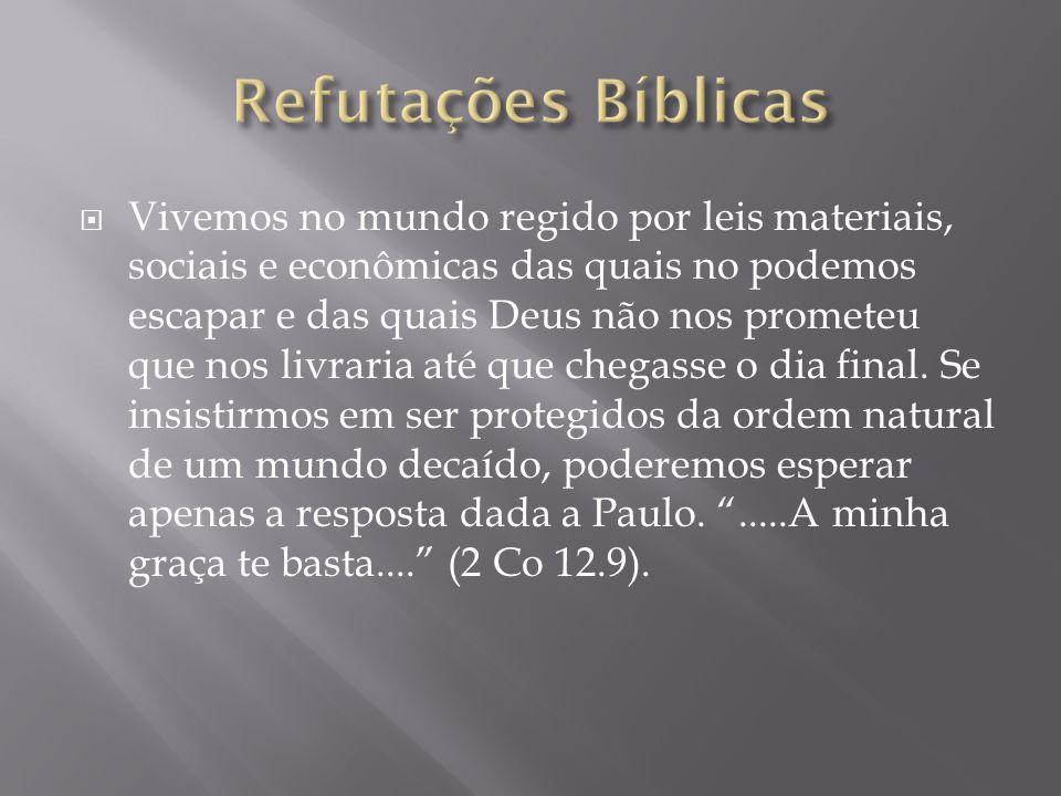 Refutações Bíblicas