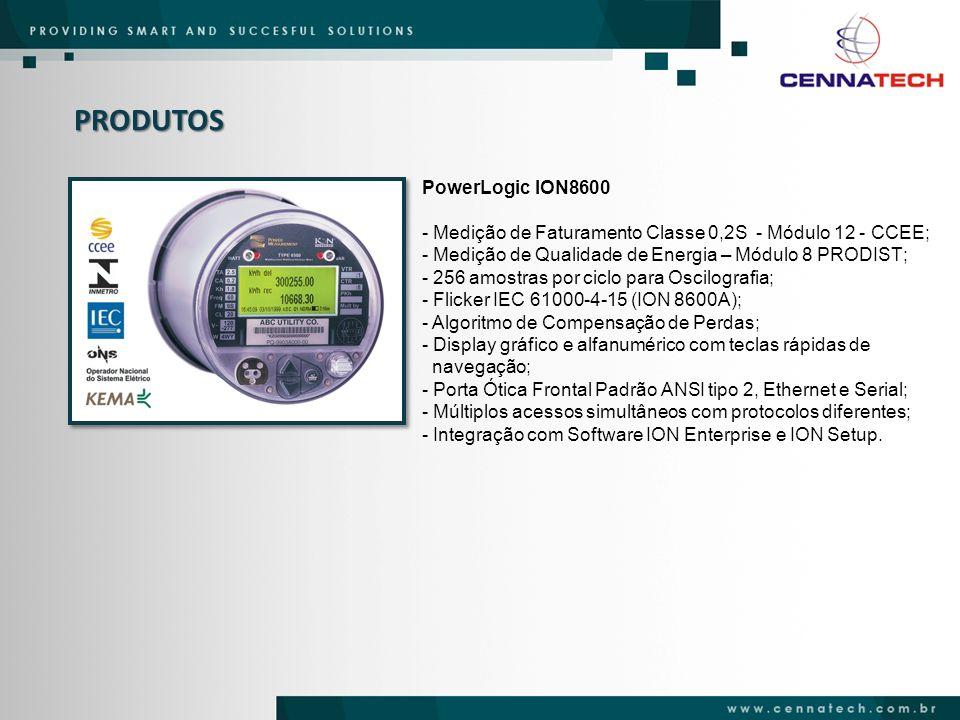 PRODUTOS PowerLogic ION8600