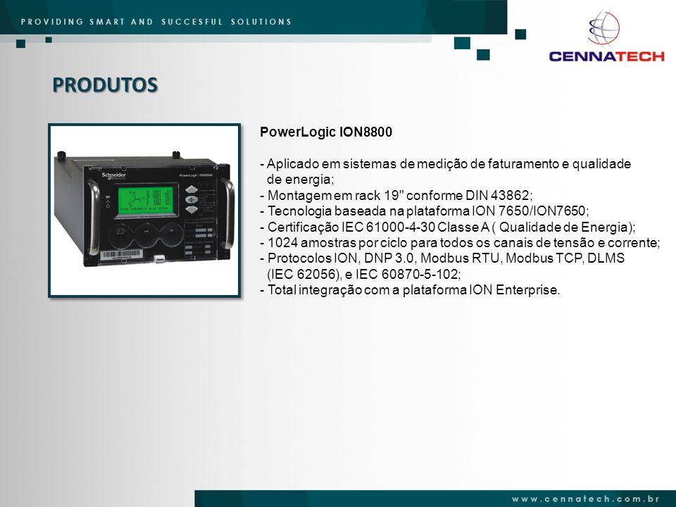 PRODUTOS PowerLogic ION8800