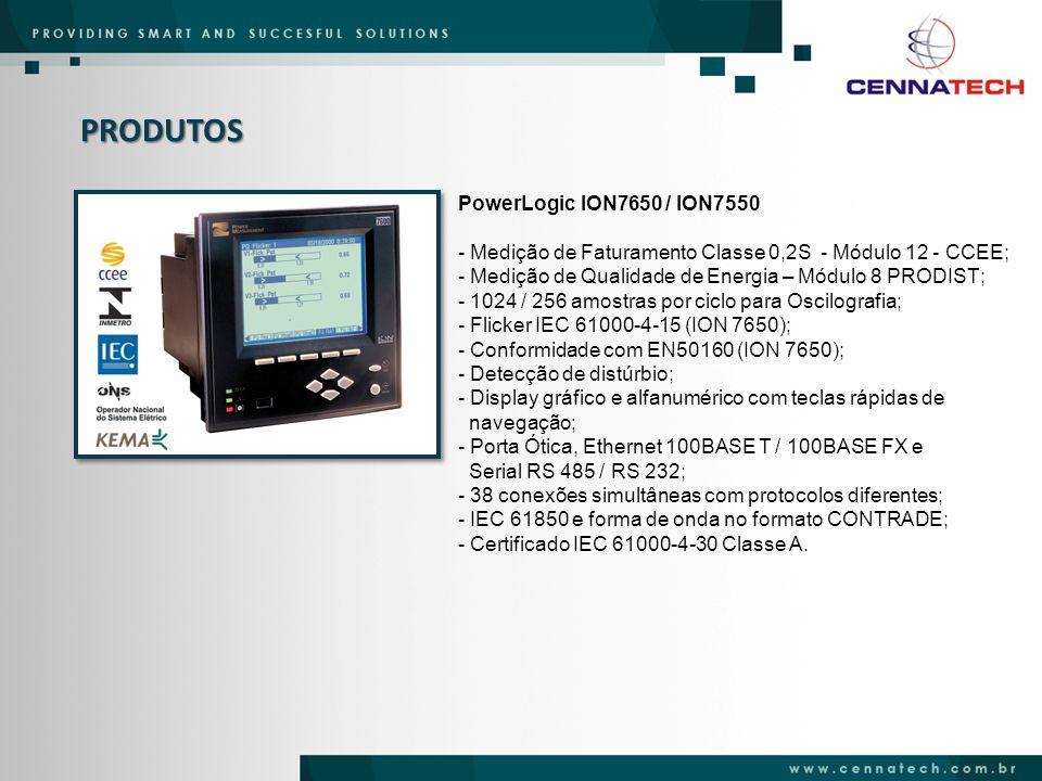 PRODUTOS PowerLogic ION7650 / ION7550
