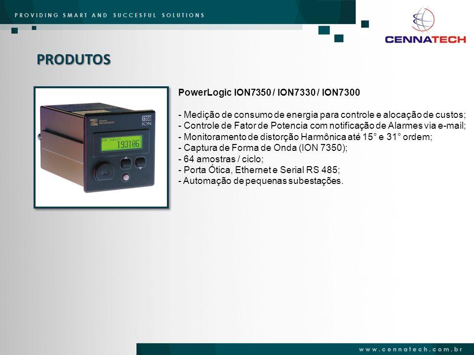 PRODUTOS PowerLogic ION7350 / ION7330 / ION7300