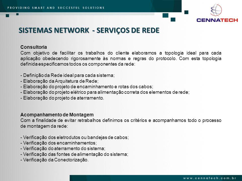 SISTEMAS NETWORK - SERVIÇOS DE REDE
