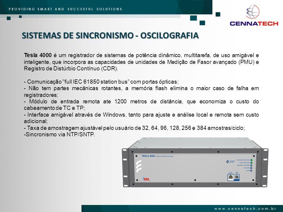 SISTEMAS DE SINCRONISMO - OSCILOGRAFIA